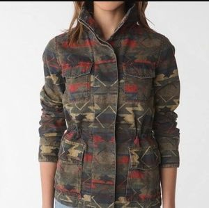 Urban Outfitters Ecote tribal print jacket